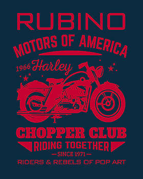 Rubino Motorcycle Club by Tony Rubino