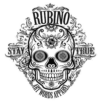Rubino Rise Up Skull 2 by Tony Rubino
