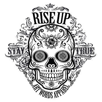 Rubino Rise Up Skull by Tony Rubino