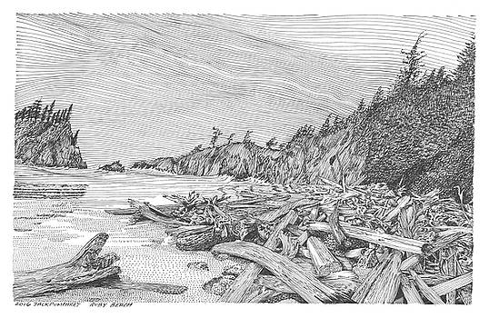 Ruby Beach by Jack Pumphrey