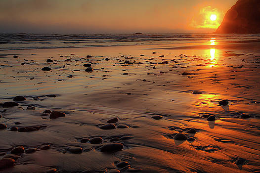 David Chandler - Ruby Beach Sunset