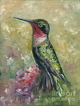 Ruby-Throated Hummingbird by Neat Soup