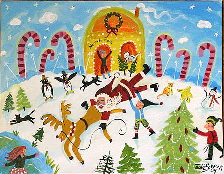 Rudolph Runs Away by Julie Schronk