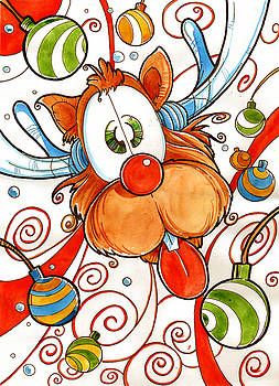 Rudolph the Red Nose Deer by Luis Peres