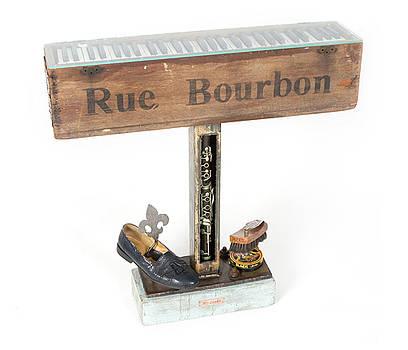 Rue Bourbon by Benjamin Bullins