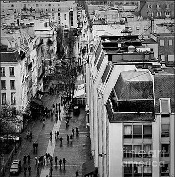 Cyril Jayant - Rue du Beaubourg- Paris .