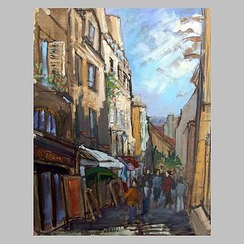 Rue Saint Severin by Ilona Filip