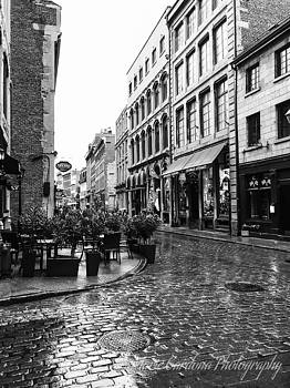 Rue St Paul in Montreal by Marie Cardona