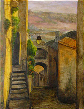Ruelle on Provence by Margot Koefod