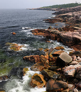 Reimar Gaertner - Rugged coastline at MacKinnons Cove in Cape Breton Highlands Nat