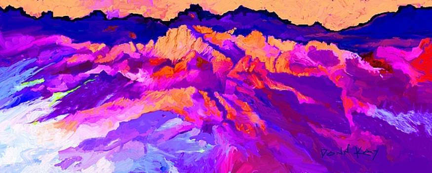 Rugged Mountains by Donn Kay