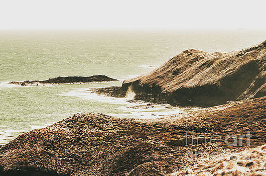 Rugged rocky cape by Jorgo Photography - Wall Art Gallery
