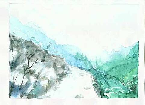 Rugged terrain by Mousumi Mani