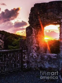 Ruins at Sunset by Julia Rigler