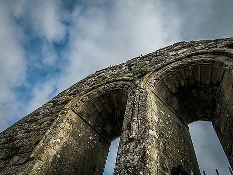 Ruins of 12th Century Abbey by James Truett