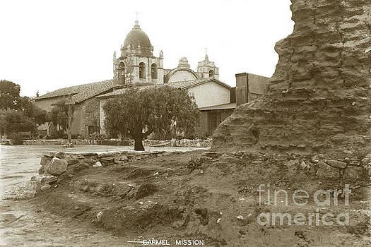 California Views Mr Pat Hathaway Archives - Ruins of Carmel Mission Circa 1924