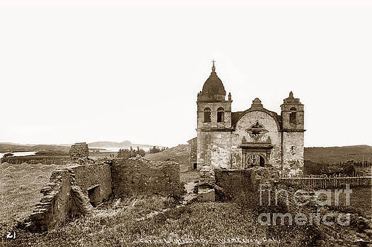 Ruins of Carmel Mission, Monterey, Cal. circa 1882 by California Views Mr Pat Hathaway Archives