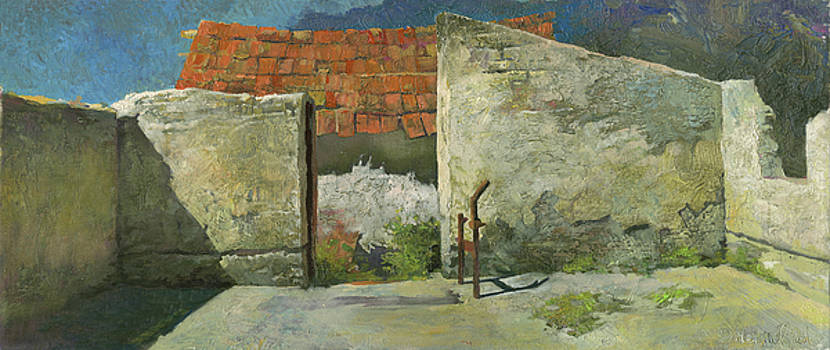 Ruins of Farm in Hungary by Denis Chernov
