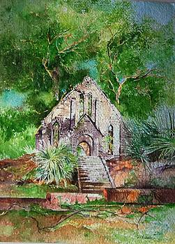 Ruins of Presbyterian Church by Prakash Sree S N