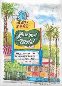 Rummel Motel in Las Vegas, Nevada by Carlos G Groppa