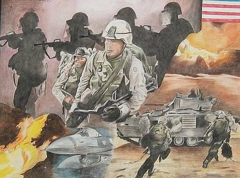 Rumors of War by Bennie Parker