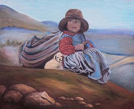 Run away child by Jeanne Silver