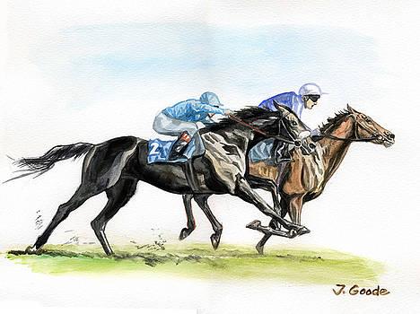 Run like the wind by Jana Goode