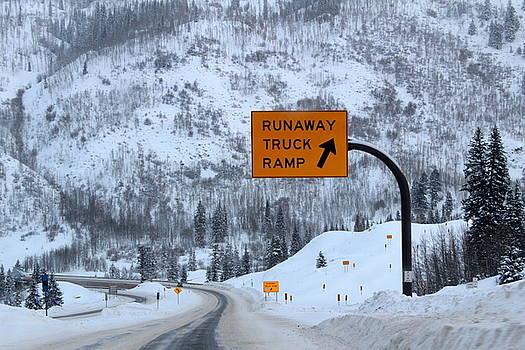 Runaway Truck Ramp by Fiona Kennard