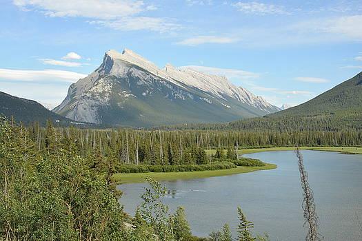Rundle From Banff by Nicki Bennett