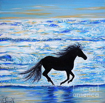 Running Free by the Sea by Kirsten Sneath