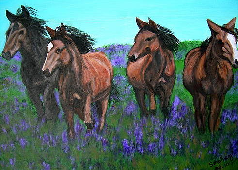 Running Free by Vickie Wooten