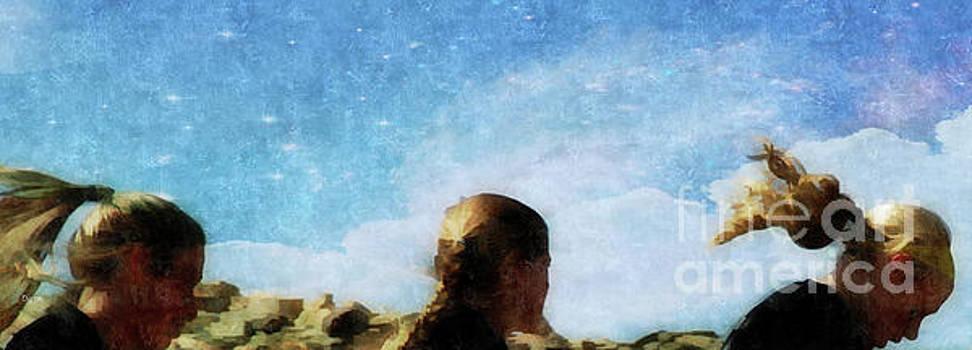 Running Hair  by Steven Digman