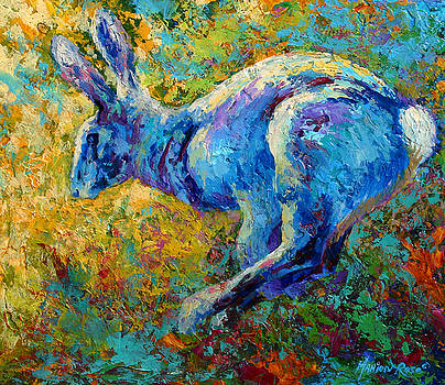 Marion Rose - Running Hare
