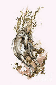 Angel Tarantella - Running in gold dust