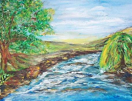 Running River by Mary Sedici