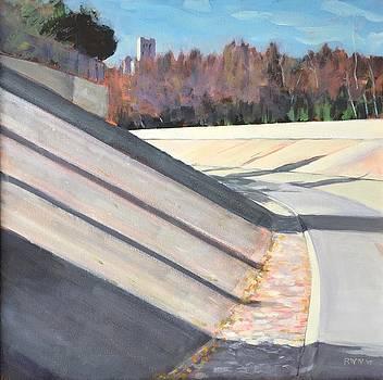 Running the Arroyo, Dry by Richard Willson