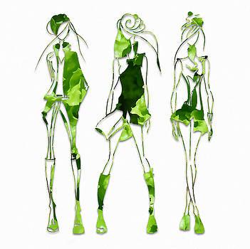 Runway Models Fashion Salad Dressing by Marvin Blaine