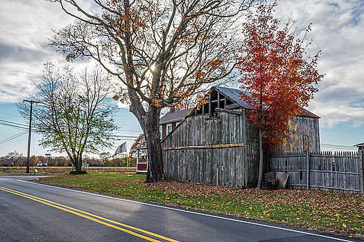Rural Barn Along the Road by Andrew Kazmierski