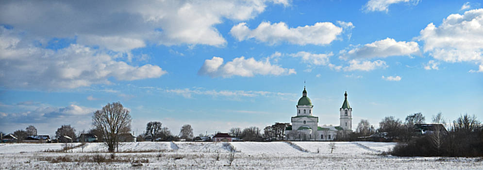 Rural church. Lemeshi, 2017. by Andriy Maykovskyi