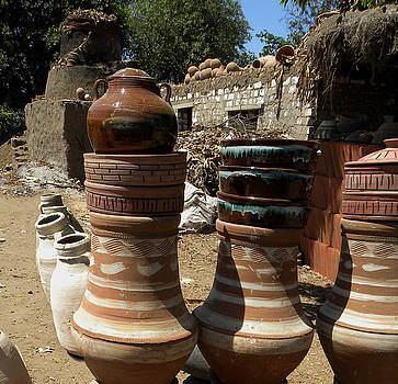 Rural Egyptian Pottery Kiln and Shop by Aisha Abdelhamid