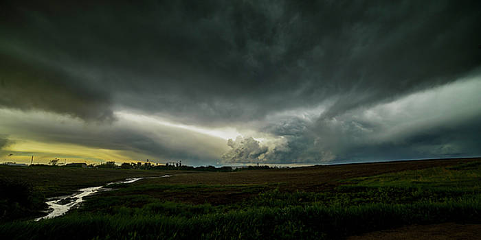 Art Whitton - Rural Spring Storm over Chester Nebraska