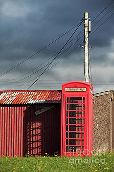 Rural Telephone Box, Scotland by David Bleeker