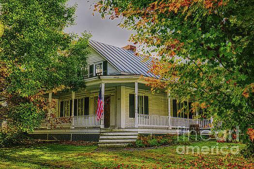 Rural Vermont Farm House by Deborah Benoit