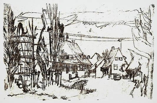 Martin Stankewitz - rural village,farm houses