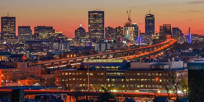 Rush hour in Boston, Massachusetts. by Matthew MacPherson