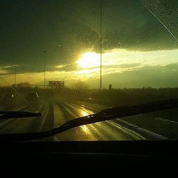 ☔⛅rush Hour, Raining On I-95 South by Elysha Perry