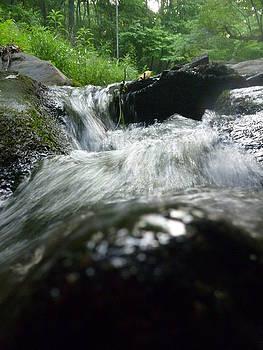 Rushing creeks by Meika Quinn