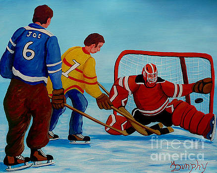 Rushing The Net by Anthony Dunphy