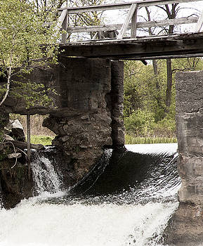 Michael Rutland - Rushing Water at Stockdale mills