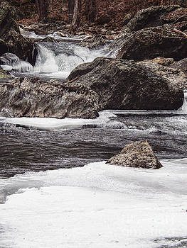 Rushing Water On Little River by Phil Perkins